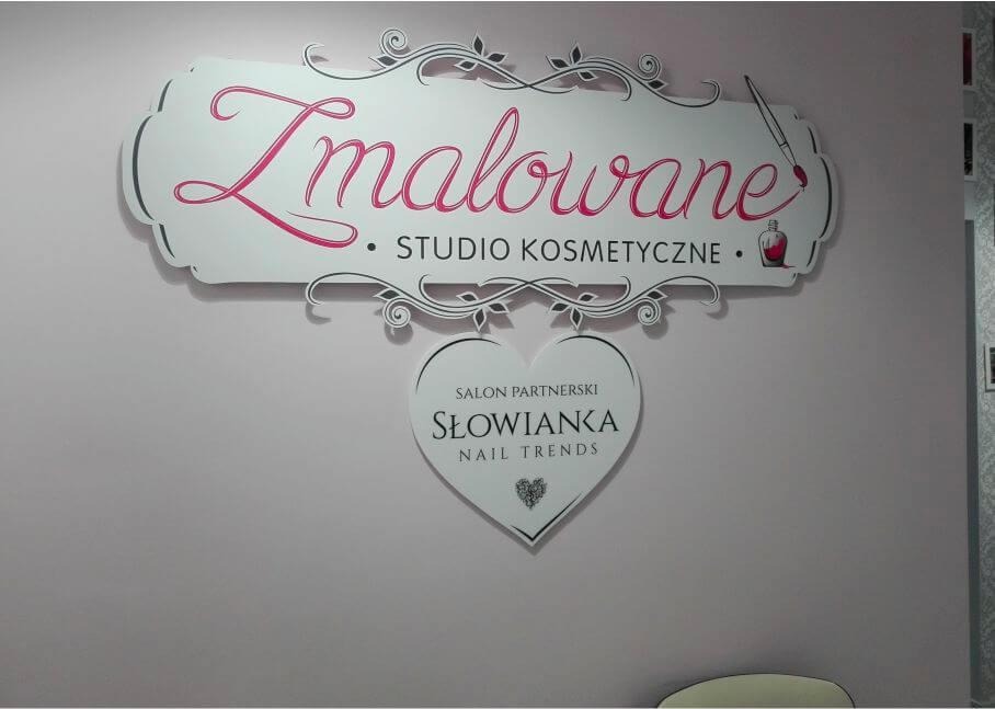 Realizacja dla Zmalowane Studio Kosmetyczne